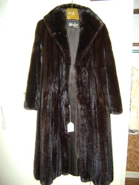 This full length fur as well as the other furs are of the highest quality and are the finest I have ever seen.